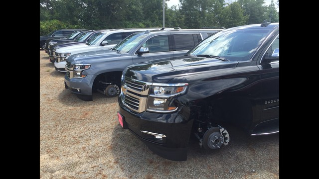 Wheels And Tires On 48 Vehicles Stolen From Tyler Car